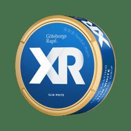 XR Göteborgs Rapé slim white Portionssnus