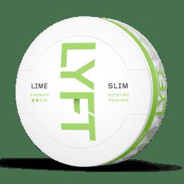 LYFT Lime Slim All White Portion