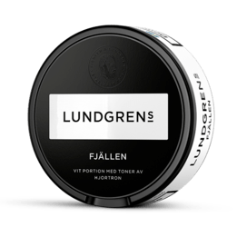 Lundgrens Fjällen Vit Portion