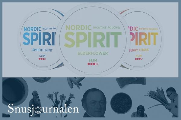 Nordic Spirit Elderflower - ny smak och dosa