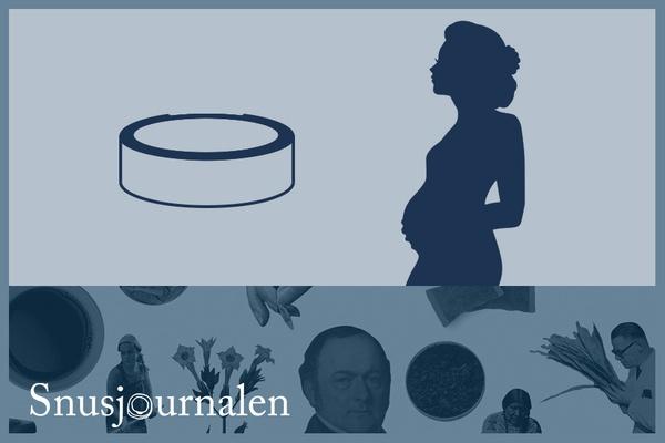 Snusa när du är gravid?