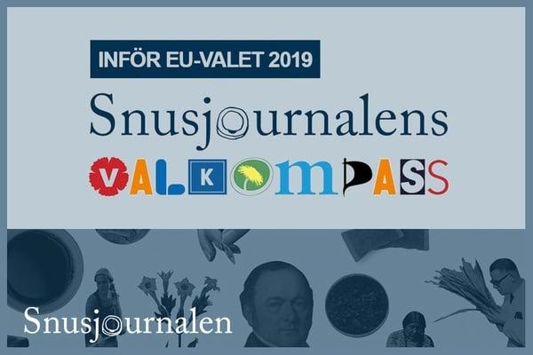 Snusjournalens EU-valkompass