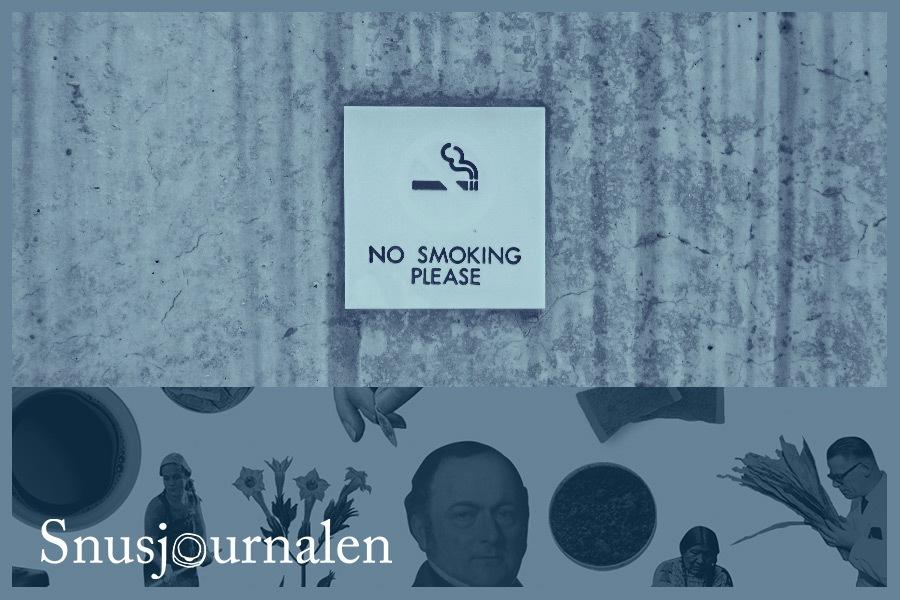Tobak, A Non Smoking Generation och den mediala debatten.